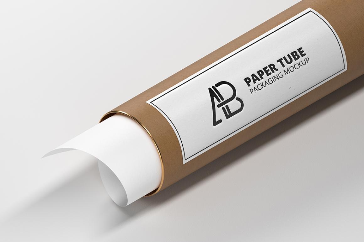 Free Paper Tube Packaging Mockup – Free Mockups, Stationery
