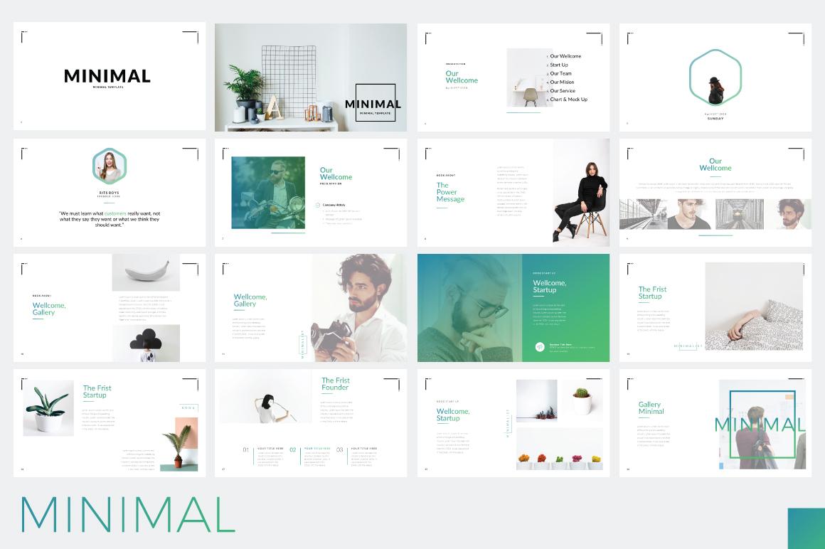 Minimal Minimalist Presentation Free Presentations
