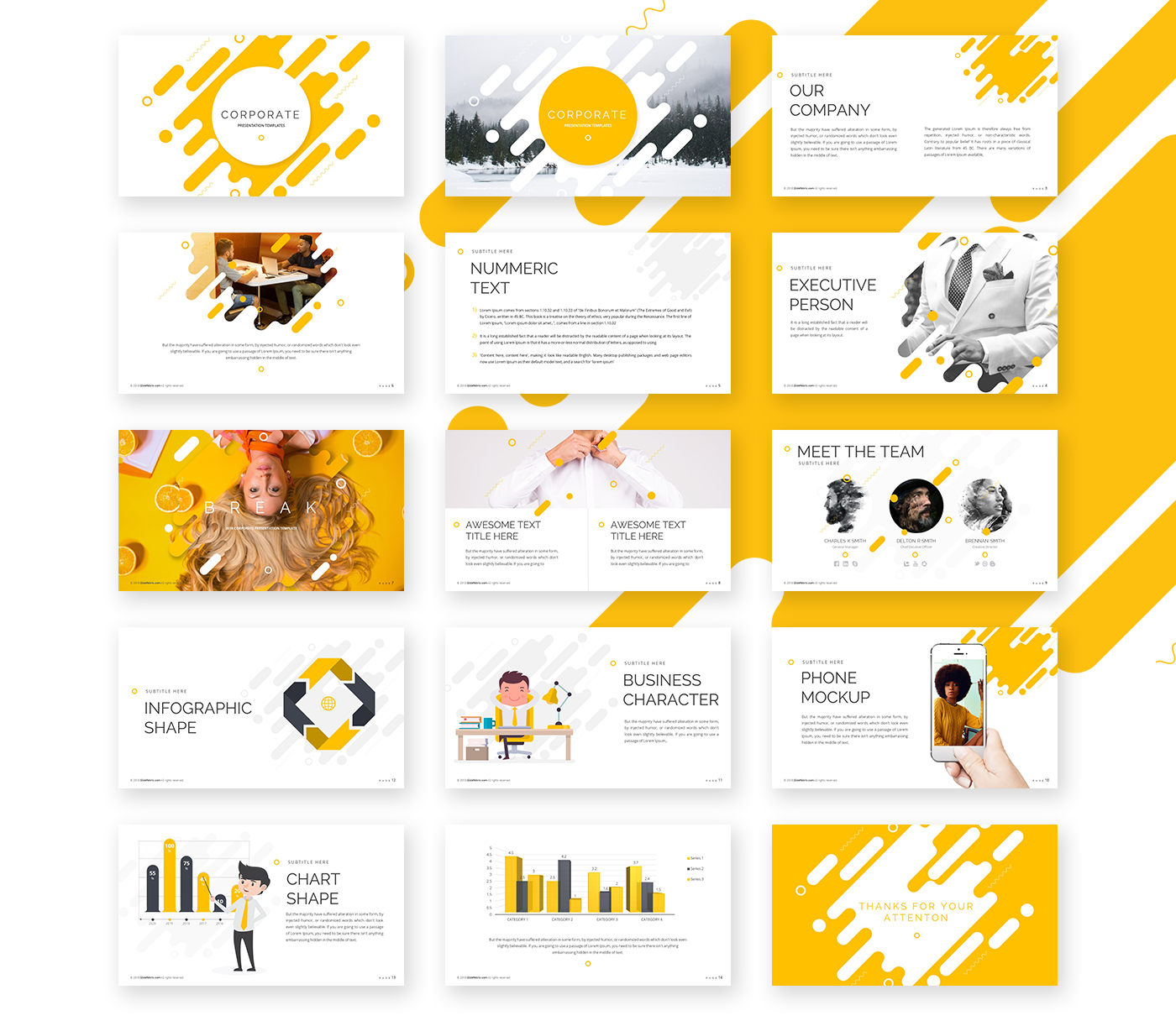 Corporate Powerpoint Template Free Presentations