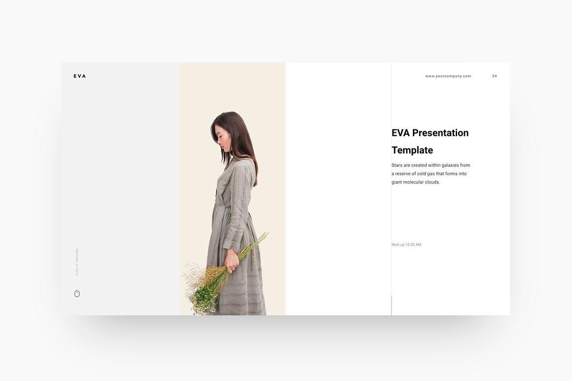 EVA - FREE Presentation Template – Free Presentations