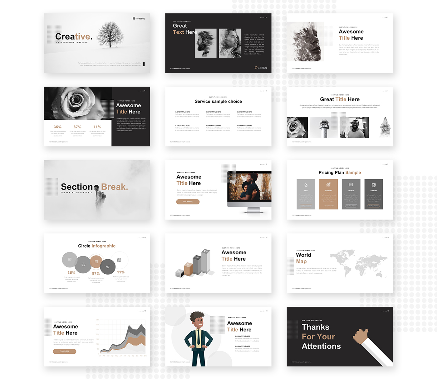 Creative Powerpoint Template Free Presentations Templates
