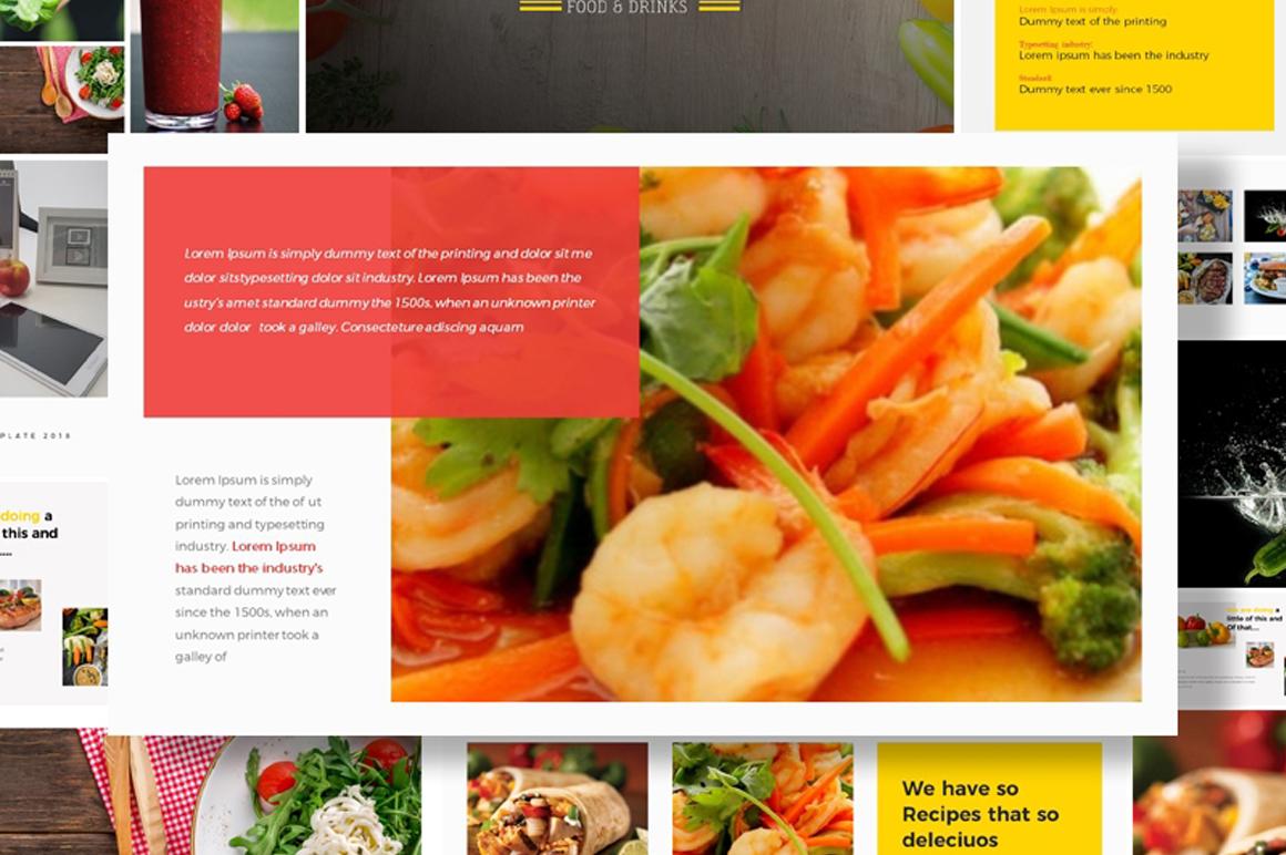 Food Restaurant Powerpoint Presentation Free Free