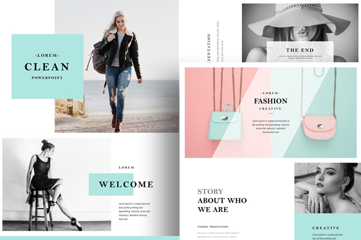 Fashion PowerPoint Presentation Template Free – Free