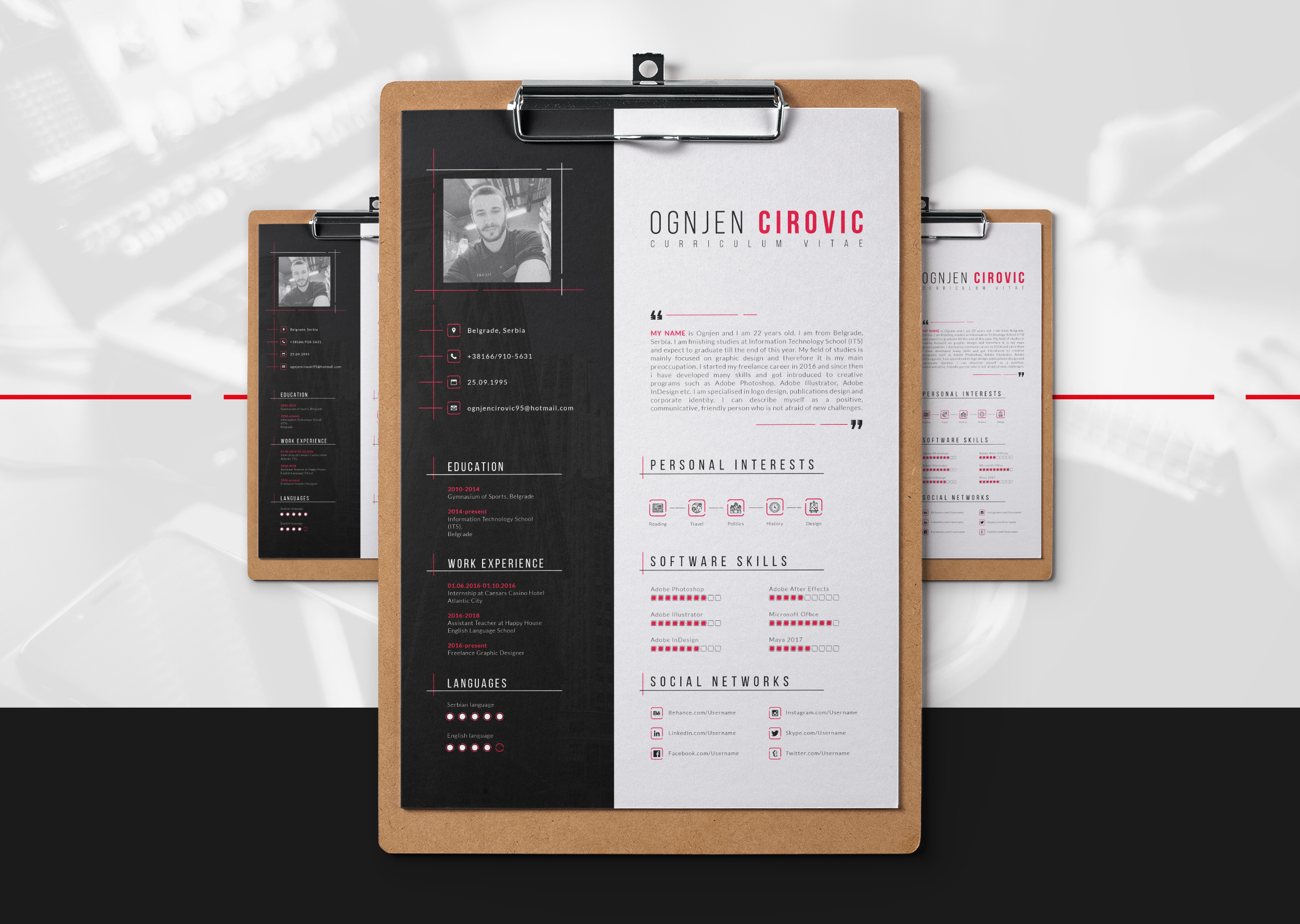 Free Professional Resume Template – Free Resumes, Templates ...