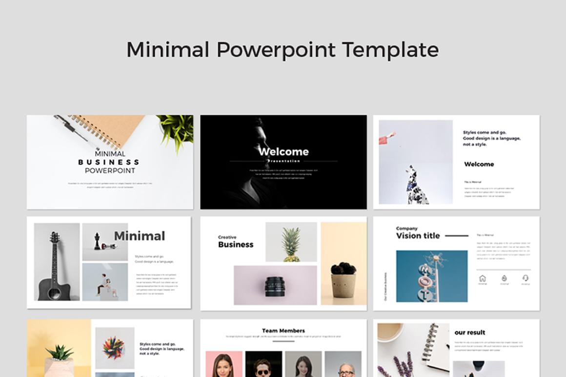 Minimal Powerpoint Template Free Free Presentations Templates Pixelify Net