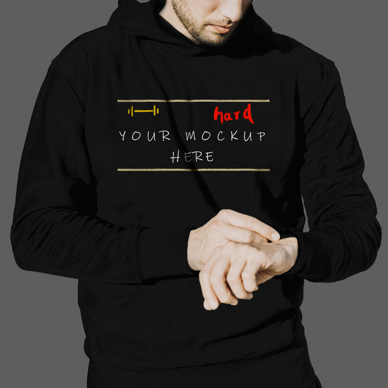 430+ Template Desain Jaket Hoodie Photoshop Gratis Terbaik