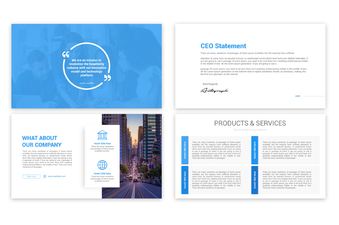 Marketing Plan PowerPoint Template Free Download – Free