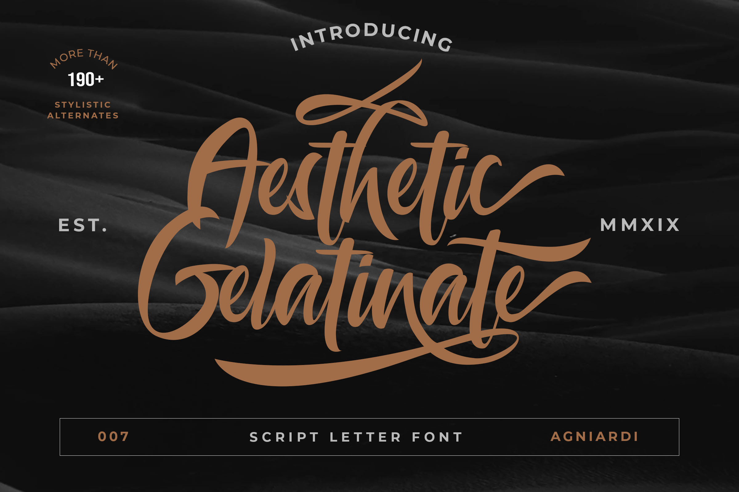 Aesthetic Gelatinato – Free Fonts, Script & handwritten