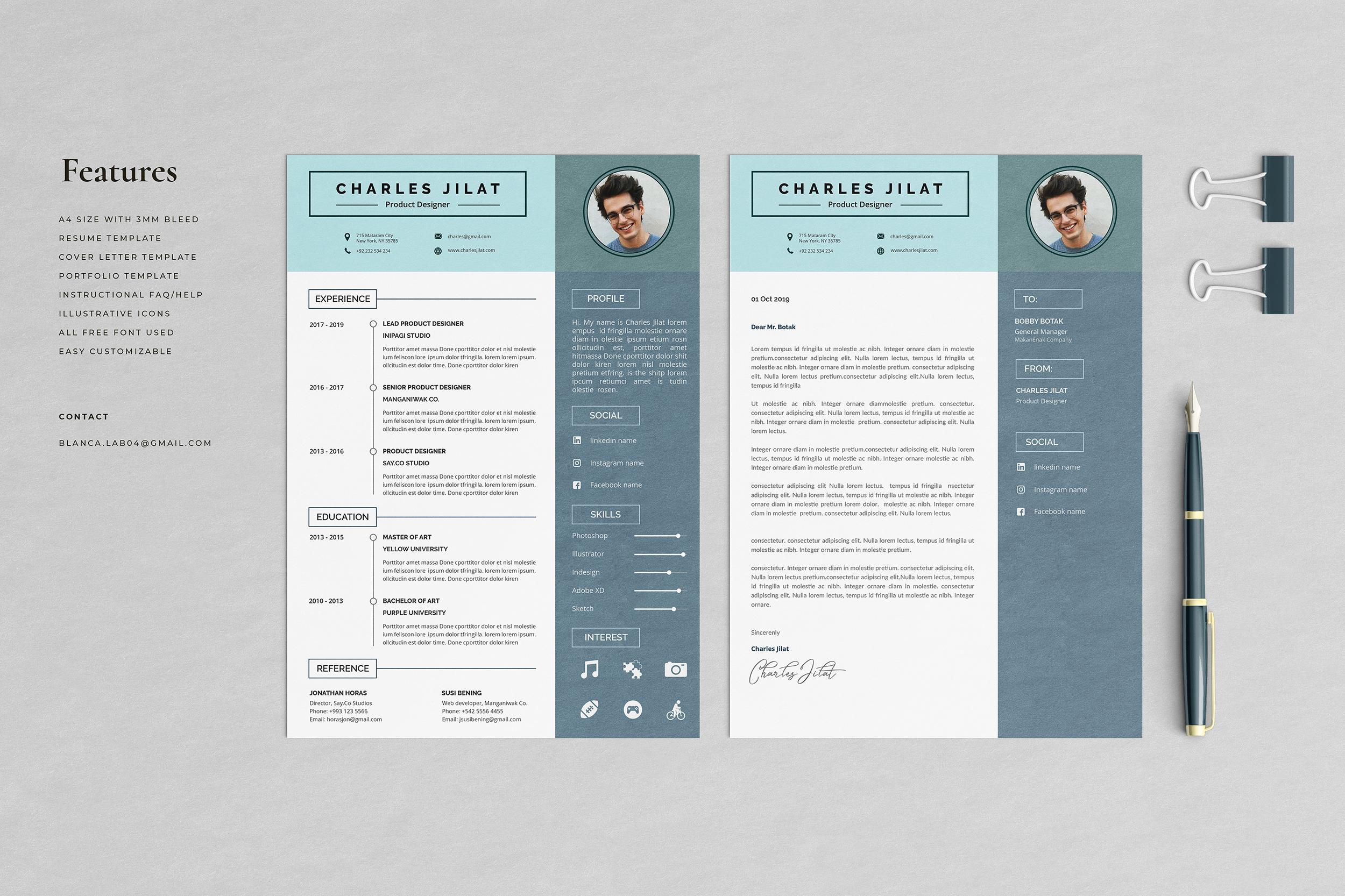 Resume Cv Jilat Free Resumes Templates Pixelify Net