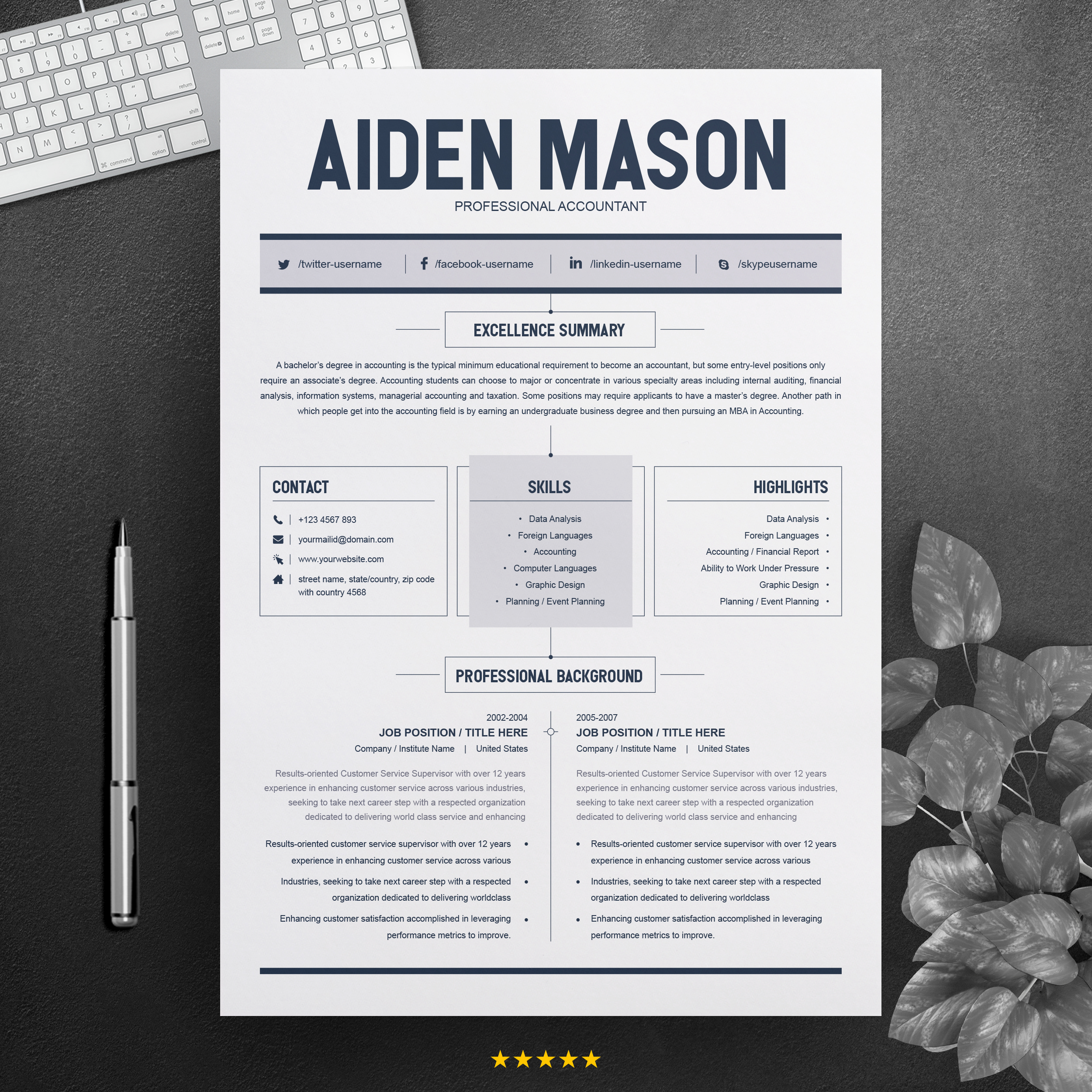 2 Page Resume Template from pixelify.nyc3.cdn.digitaloceanspaces.com