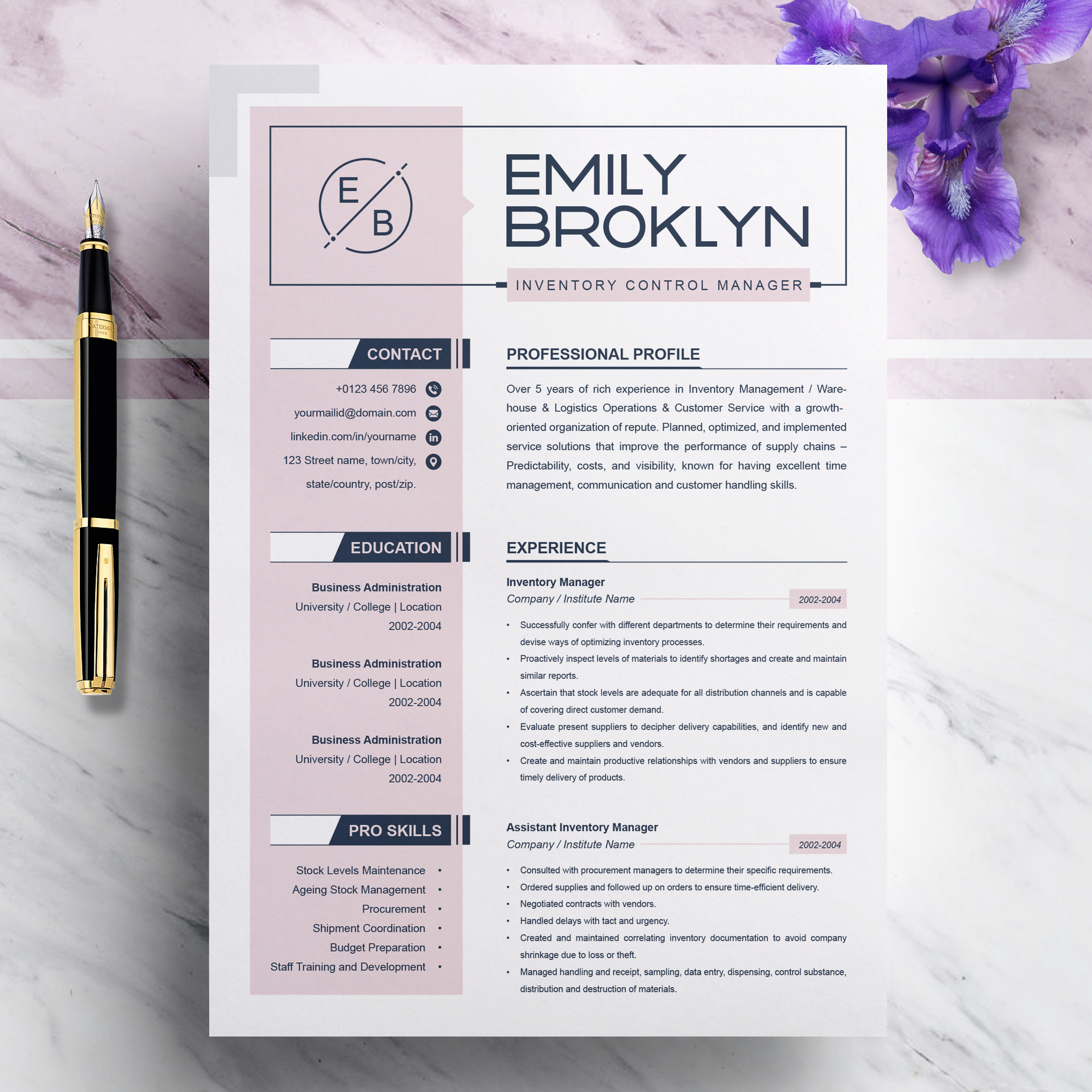 Creative Resume from pixelify.nyc3.cdn.digitaloceanspaces.com