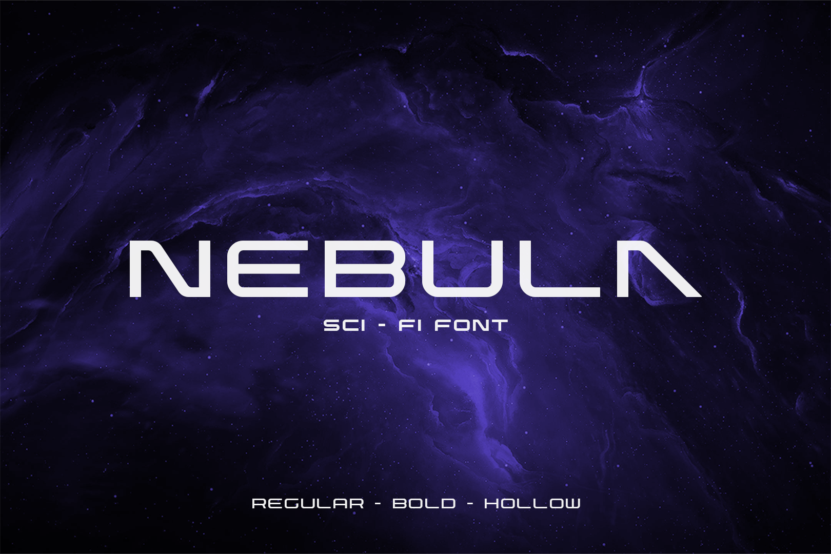 Nebula Sci Fi Font Free Display Fonts Pixelify Net