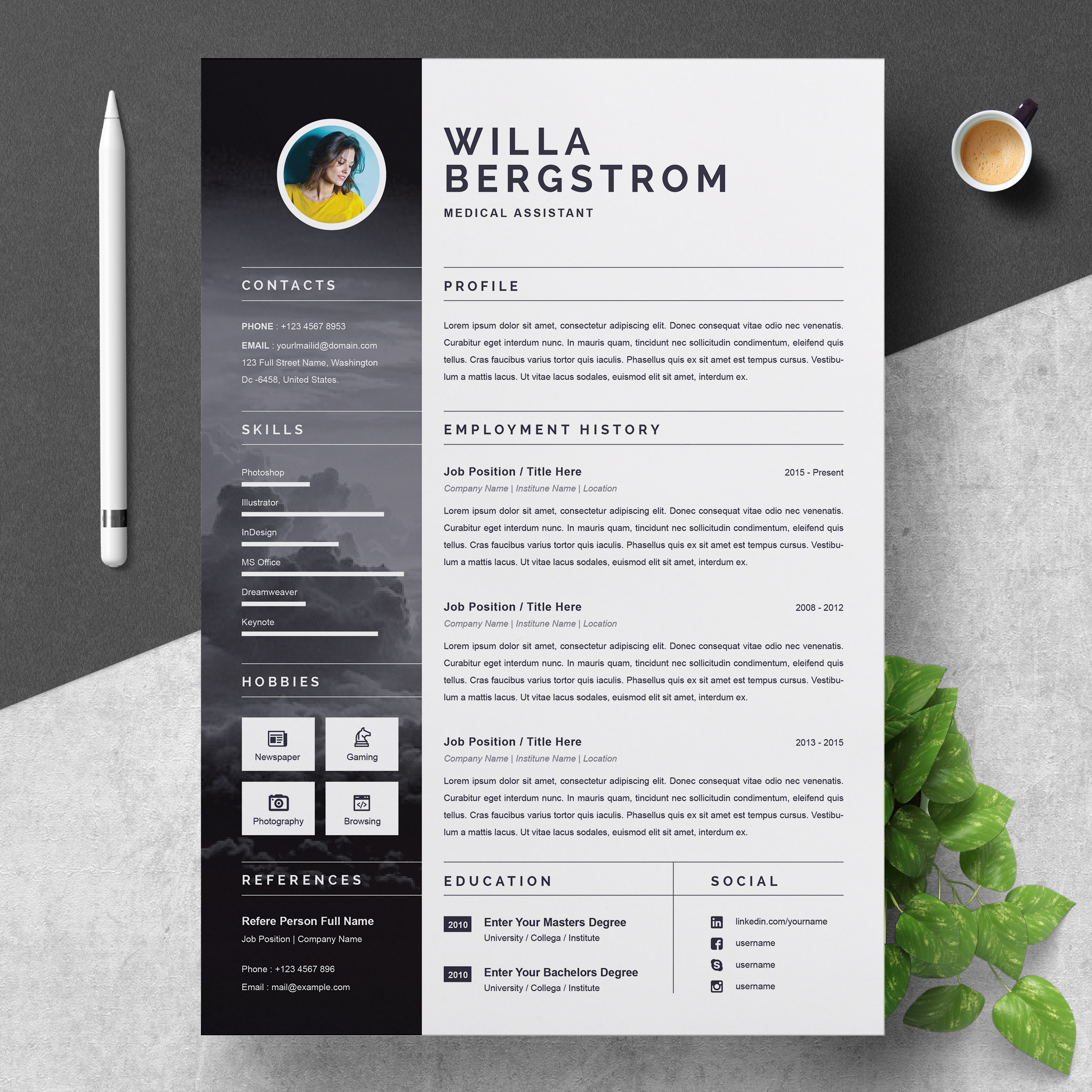 Free professional medical resume templates costing analyst resume sample