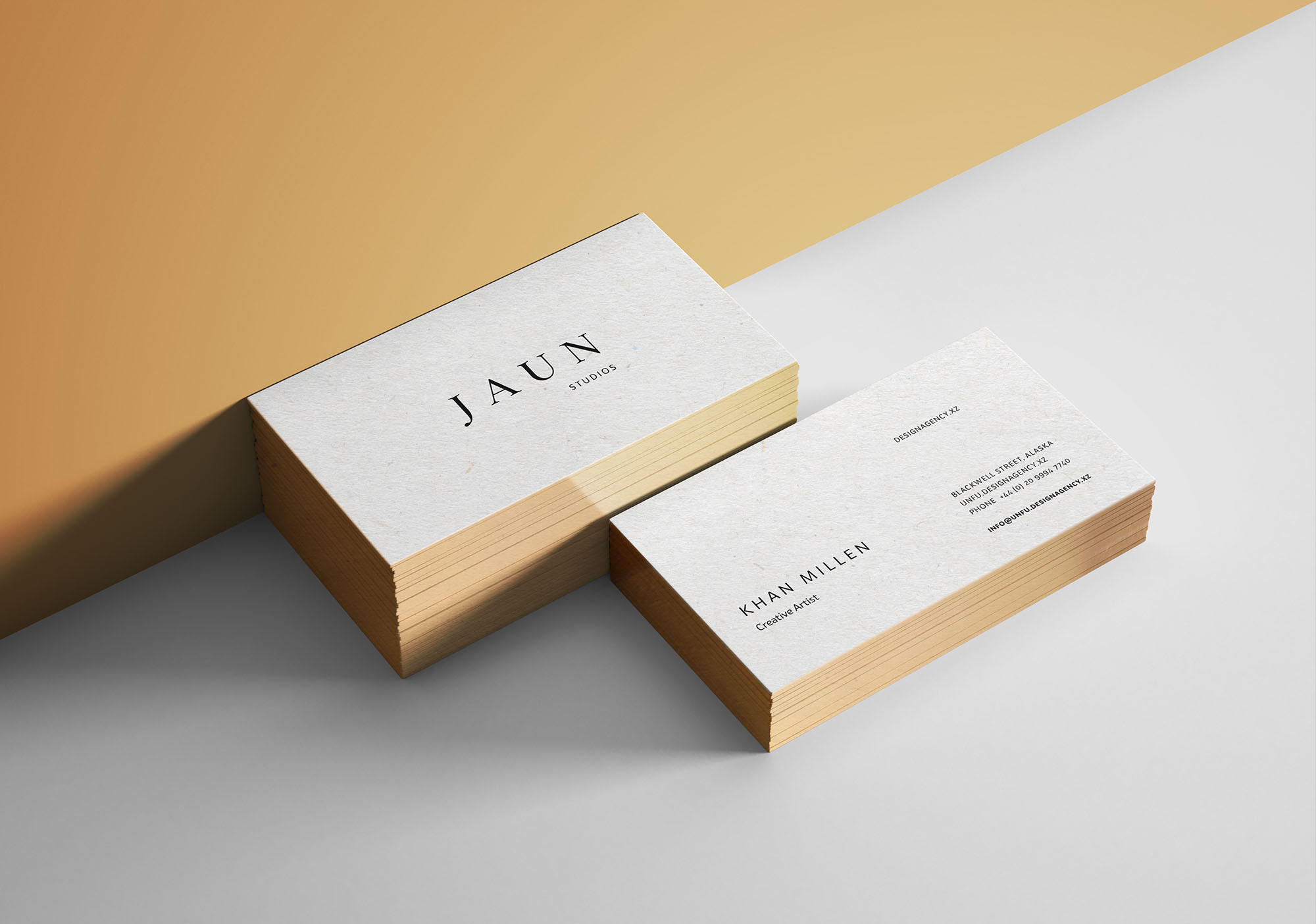 gold edges business card mockup  free mockups  pixelify